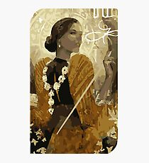 Josephine Tarot Card Photographic Print