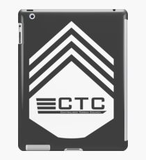 CTC Patch iPad Case/Skin