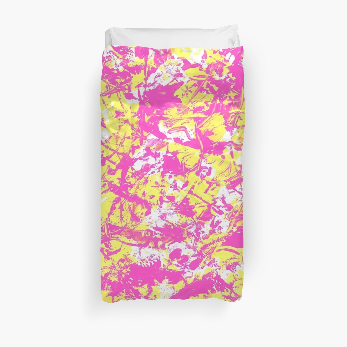 Quot Graffiti 2 Pink Quot Duvet Covers By Gasponce Redbubble