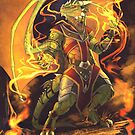 Argonian Flames by EchoesLight