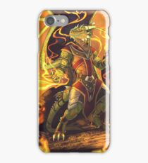 Argonian Flames iPhone Case/Skin