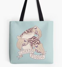 Cuttle puddle Tote Bag