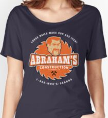 Abraham's Construction Women's Relaxed Fit T-Shirt