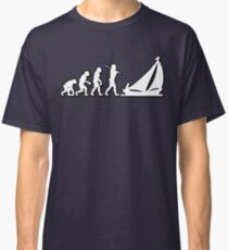 Evolution Sailing 01 by Stencil8 Classic T-Shirt