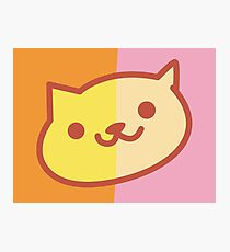 Neko Atsume Painting Photographic Print