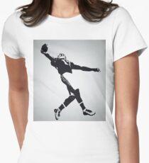 The Catch - Odell Beckham Jr Women's Fitted T-Shirt