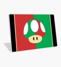 Mario'S mushroom Laptop Skin