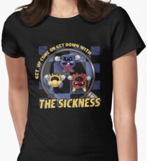 Get Down with the Sickness Women's Fitted T-Shirt