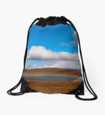 Happy Sign. Wishes Coming True Drawstring Bag