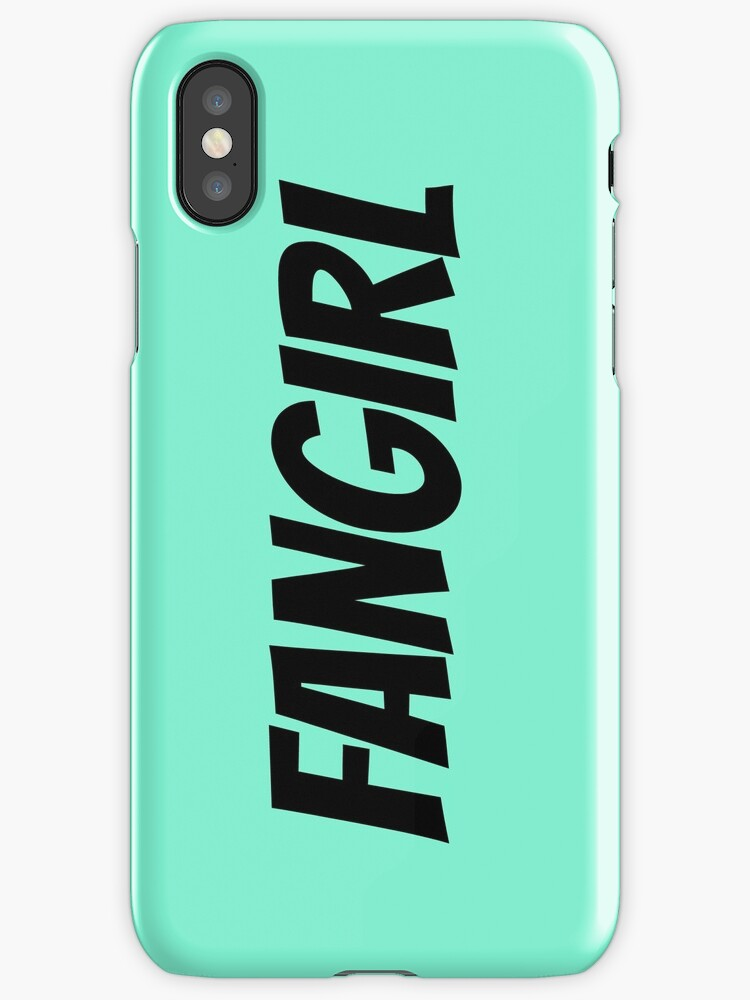 Fangirl Phone Case by sprinkleofmia
