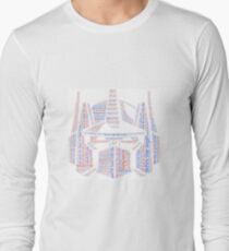 Optimus Prime Quote Word Art Long Sleeve T-Shirt