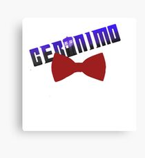geromino doctro who Canvas Print