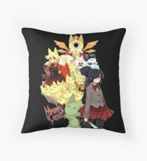 Welcome to the Mogeko Castle! Throw Pillow