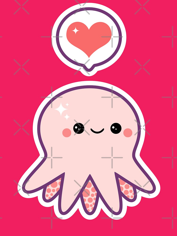 Cute Cartoon Baby Octopus | www.pixshark.com - Images ...