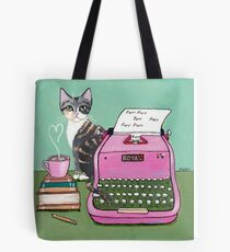 Love Note From The Cat Tote Bag