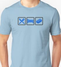 Eat Sleep Lego Unisex T-Shirt