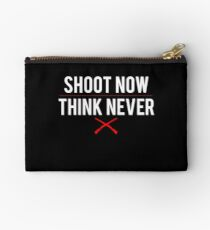 Ash Vs. Evil Dead - Shoot Now, Think Never - White Clean Studio Pouch