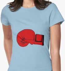 Boxing Glove Women's Fitted T-Shirt