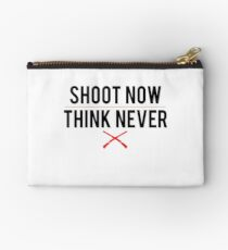Ash Vs. Evil Dead - Shoot Now, Think Never - Black Clean Studio Pouch