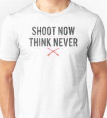 Ash Vs. Evil Dead - Shoot Now, Think Never - Black Dirty T-Shirt