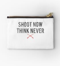 Ash Vs. Evil Dead - Shoot Now, Think Never - Black Dirty Studio Pouch