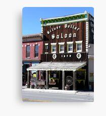 Silver Dollar Saloon, Leadville, Colorado Canvas Print