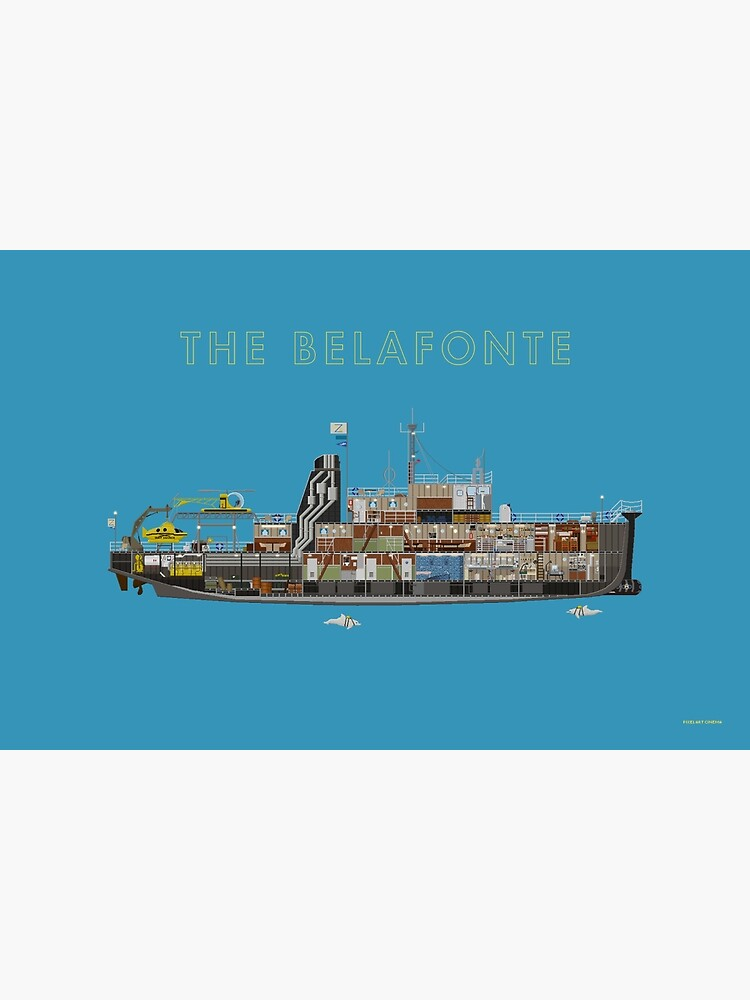 The Belafonte - The Life Aquatic by PixelArtCinema