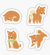 Tiny Shibas Sticker