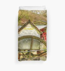 Smallest working water mill Duvet Cover