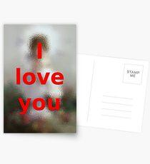 I love you Postcards