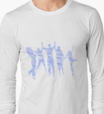 Forever Family Fun - Blue  Long Sleeve T-Shirt