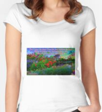For I Know The Plans I Have For You Fitted Scoop T-Shirt