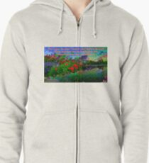 For I Know The Plans I Have For You Zipped Hoodie