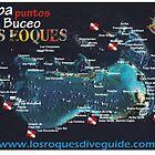 «Mapa los roques» de Org Bluewater