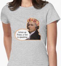 Hamilton II Tailliertes T-Shirt für Frauen