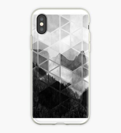 Forest Geometric Print iPhone Case