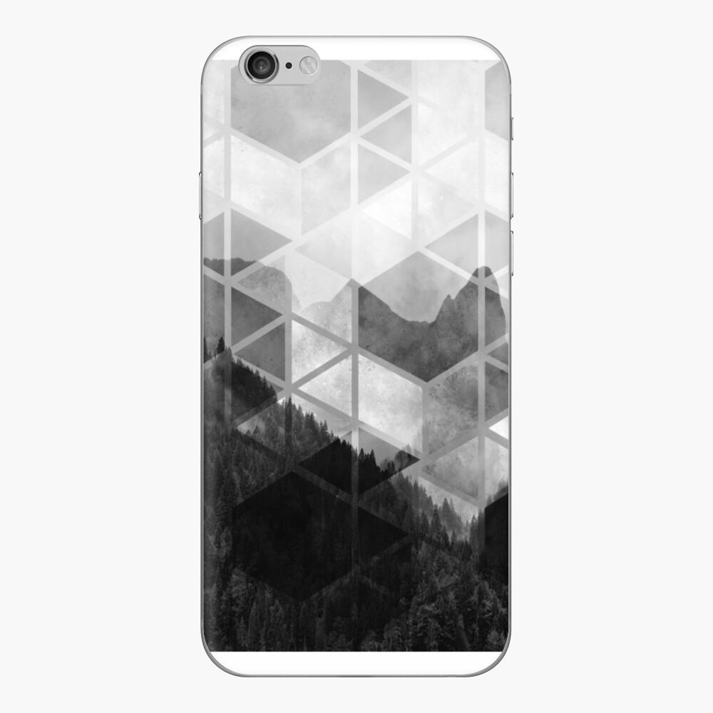Geometrischer Druck des Waldes iPhone-Hüllen & Cover