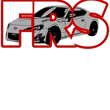 Scion FR-S Stamped by Snoopyalien24