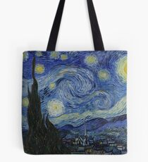 Vincent van Gogh - Starry Night Tote Bag