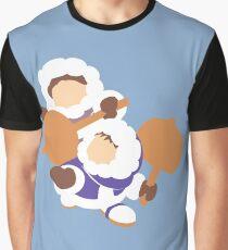 Smash Bros - Ice Climbers Graphic T-Shirt