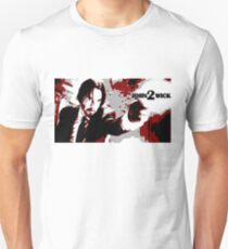 John Wick 2 Bloodied Red Design T-Shirt