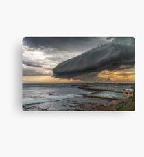 14.1.2015 Wollongong Harbour Canvas Print