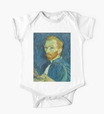 Vincent van Gogh - Self-Portrait, August 1889 One Piece - Short Sleeve