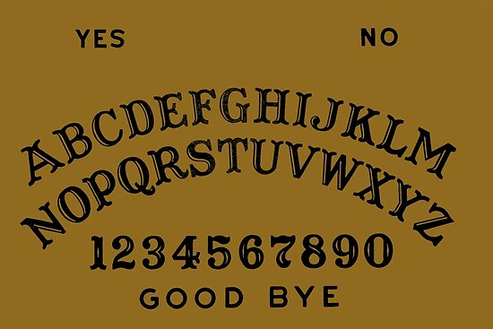 Ouija Board Posters By Divine Symbols Redbubble