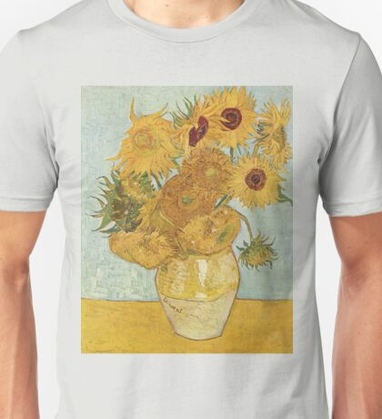 Vincent van Gogh - Sunflowers Unisex T-Shirt