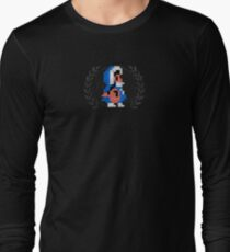 Ice Climber - Sprite Badge Long Sleeve T-Shirt