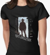 The Outlaw Josey Wales Women's Fitted T-Shirt
