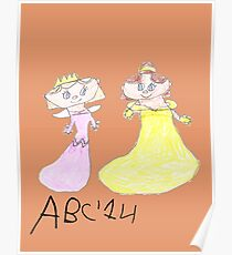 Princesses - ABC '14  Poster