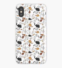 Neko Atsume Kitties iPhone Case