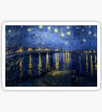 Vincent van Gogh - Starry Night Over the Rhone Sticker